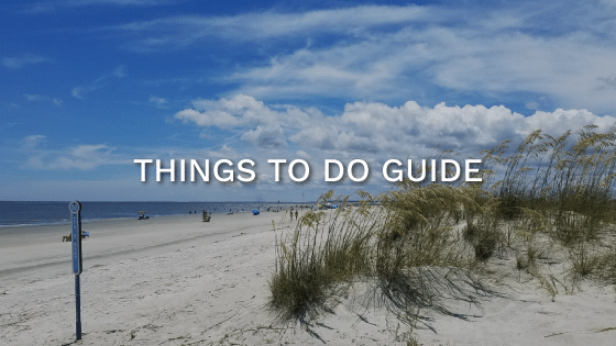 things to do st simons island rentals